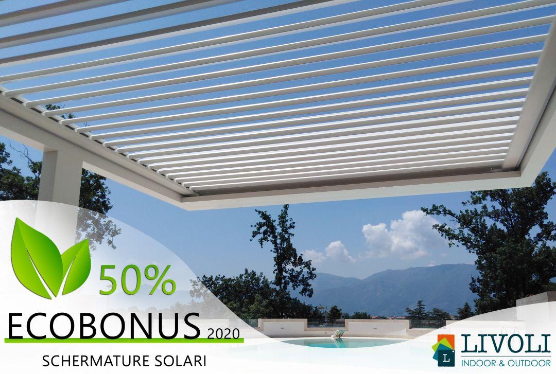 Pergola Bioclimatica Ecobonus 50%